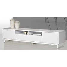 Fiore White TV Unit
