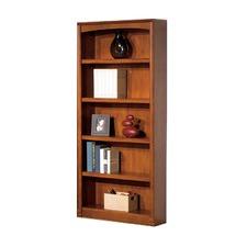 Logan 5 Shelf Bookcase