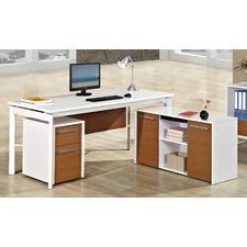 3 Piece Agile Office Desk & Cabinet Set