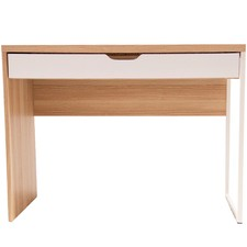Natural & White Carson Laptop Desk