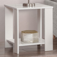 White Sheridan Side Tables (Set of 2)