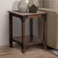Dark Timber Morrison Side Table