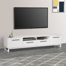 White Fiore TV Unit