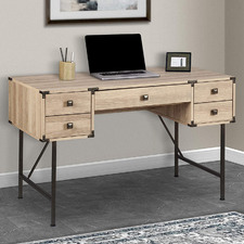 Light Timber Mannington 120cm Writing Desk