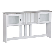 White Broweville Detachable Hutch