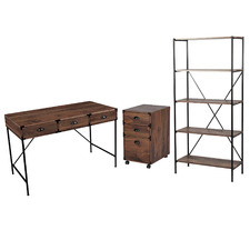 3 Piece Cady Writing Desk Set