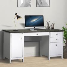 Grey & White Armitage Writing Desk