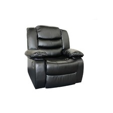 Dream Lounge Bonded PU Leather Recliner Chair