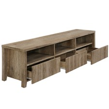 Alexa Rustic 3 Drawer Entertainment Unit