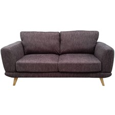 Brown Atlanta 2 Seater Sofa