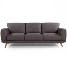 Brown Atlanta 3 Seater Sofa