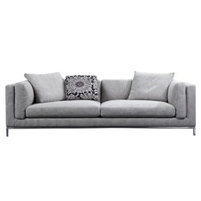 Grey Coco 3 Seater Sofa