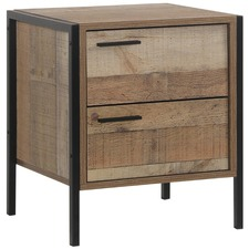 Sunbury Bedside Table with Drawers