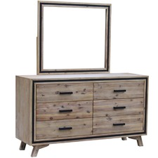 Airlie Acacia Dresser with Mirror