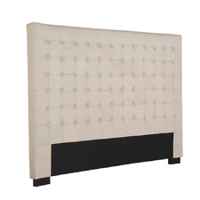 Cilantro King Linen Headboard