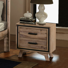 Airlie Acacia Bedside Table