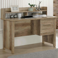 Alexa Rustic 2 Drawer Office Desk