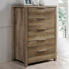 Alexa 5 Drawer Tallboy