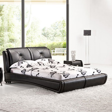 Ava Faux Leather Bed