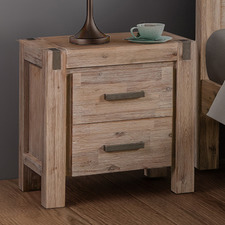 Charm Oak Bedside Table
