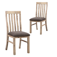Charm Oak Dining Chairs (Set of 2)