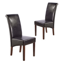 Resell Faux Leather Dining Chairs (Set of 2)