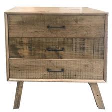 Ozzy Bondi 3 Drawer Bedside Table