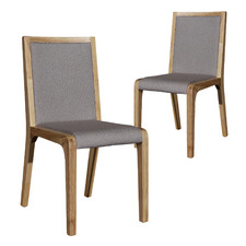 Aperture Linen Dining Chairs (Set of 2)