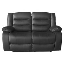 Ipanema 2 Seater Faux Leather Recliner Sofa