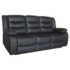 Ipanema 3 Seater Faux Leather Recliner Sofa