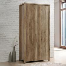 Alexa Rustic 2 Door Wardrobe