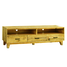 Ridge Pine Wood Entertainment Unit