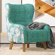 Xenthe Linen Armchair