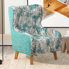 Demeter Linen Armchair