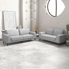 Hanna 5 Seater Linen Sofa Set