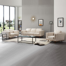 Brooklyn 6 Seater Upholstered Sofa & Armchair Set