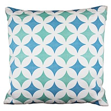 Melilla Blue Cushion (Set of 2)