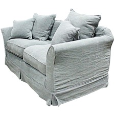 2.5 Seater Granite Grey Lisbon Sofa