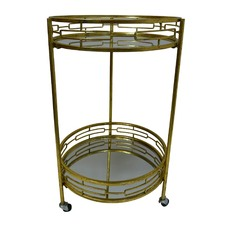 Aged Gold Nikos Drinks Trolley