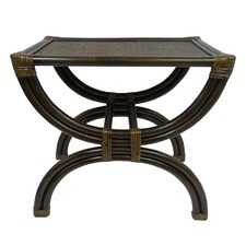 Emley Bamboo & Rattan Side Table
