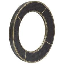 Black & Gold Distressed Nuana Mirror
