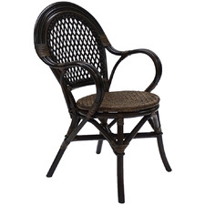 Samara Woven Seat Chairs (Set of 2)