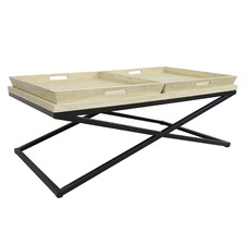 Montte Elm Wood Coffee Table