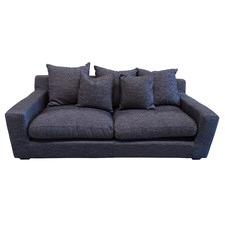Cynthia Linen Slipcover 3 Seater Sofa