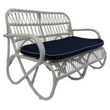 Douglas 2 Seater Bamboo Sofa