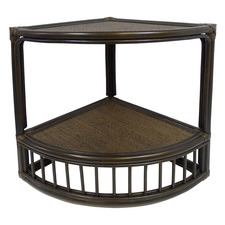 Fergis Bamboo & Rattan Side Table
