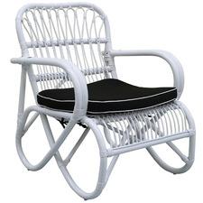 Douglas Bamboo & Rattan Accent Chair