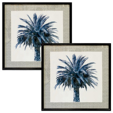 Kenitra Palms Framed Printed Wall Art (Set of 2)