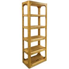 5 Tier Havana Pine Wood Bookcase