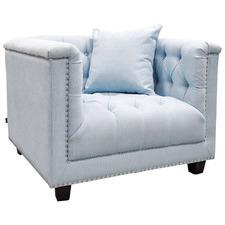 Blue Trinity Upholstered Armchair